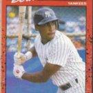 BERNIE WILLIAMS 1990 Donruss #689.  YANKEES