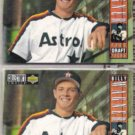 BILLY WAGNER 1994 UD CC Silver Sig. Draft Pick w/ sister.  ASTROS
