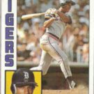 LOU WHITAKER 1984 Topps #695.  TIGERS