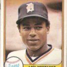 LOU WHITAKER 1981 Fleer #463.  TIGERS