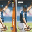 LOU WHITAKER (2) 1996 UD CC Silver Sig. Tribute.  TIGERS