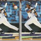 BERNIE WILLIAMS (2) 1993 Fleer Ultra #252.  YANKEES