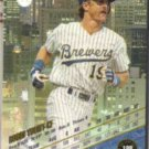 ROBIN YOUNT 1993 Leaf #188.  BREWERS