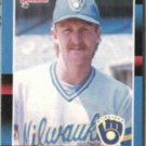 ROBIN YOUNT 1988 Donruss #295.  BREWERS