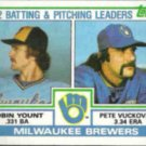 ROBIN YOUNT 1983 Topps Leaders #321.  BREWERS