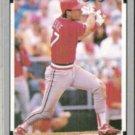 TODD ZEILE 1991 Leaf #327.  CARDS