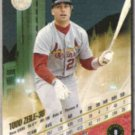 TODD ZEILE 1993 Leaf #8.  CARDS
