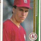 TODD ZEILE 1989 Upper Deck Rookie #754.  CARDS