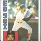 DWIGHT EVANS 1984 Topps #720.  RED SOX
