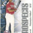PAT BURRELL 2000 Skybox Impact Prospects #91.  PHILLIES
