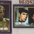 STAR TREK (2) 1991 Impel - Kirk, Bones + Spock.