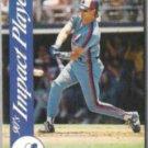 LARRY WALKER 1992 Score Impact Player Ins. #29.  EXPOS