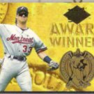 LARRY WALKER 1994 Ultra Award Winner Ins. #17 of 25.  EXPOS