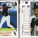 TIM RAINES (2) 1991 Upper Deck #773.  WHITE SOX