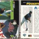 KIRBY PUCKETT (2) 1994 UD CC Up Close #638.  TWINS