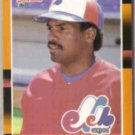 TIM RAINES 1988 Donruss Best #180.  EXPOS