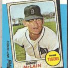 DENNY McLAIN 1982 Topps KMart #13 of 44.  TIGERS