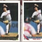 FRANK VIOLA 1993 Topps GOLD Insert w/ sister.   RED SOX