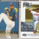 BARTOLO COLON 1998 Fleer Tradition + 1999 UD.  INDIANS