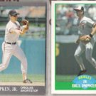 CAL RIPKEN 1991 Ultra + Billy 1989 Score.  ORIOLES