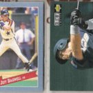 JEFF BAGWELL 1993 Hostess Insert + 1994 UD CC.  ASTROS