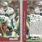 TROY AIKMAN (2) 1993 Pro Set Replay #25.  COWBOYS