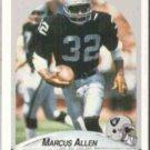 MARCUS ALLEN 1991 Fleer #249.  RAIDERS