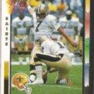 MORTEN ANDERSEN 1992 Wild Card #207.  SAINTS