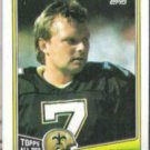 MORTEN ANDERSEN 1988 Topps #61.  SAINTS