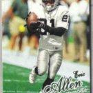 ERIC ALLEN 1998 Fleer Ultra #283.  RAIDERS