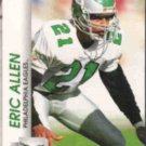ERIC ALLEN 1992 Pro Set #608.  EAGLES