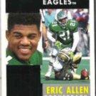 ERIC ALLEN 1991 Pinnacle #212.  EAGLES