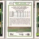 ERIC ALLEN (3) 1992 Topps #455.  EAGLES
