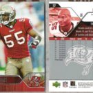 DERRICK BROOKS (2) 2004 Upper Deck #187.  BUCS