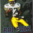 ROBERT BROOKS 1996 Fleer Rac Pack Insert #1 of 10.  PACKERS