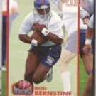 ROD BERNSTINE 1993 Pro Set Power Moves Gold #PM5.  BRONCOS