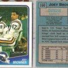 JOEY BROWNER (2) 1988 Topps #160.  VIKINGS