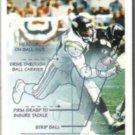 JOEY BROWNER 1991 Pinnacle #360.  VIKINGS