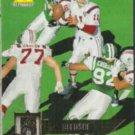 DREW BLEDSOE 1995 Pinnacle #33.  PATRIOTS