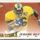JEROME BETTIS 1995 Score #216.  RAMS