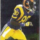 ISAAC BRUCE 1995 Fleer Metal #159.  RAMS