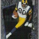 ISAAC BRUCE 1996 Upper Deck MVP Insert #M38.  RAMS