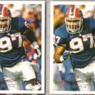 CORNELIUS BENNETT (2) 1994 Fleer #36.  BILLS