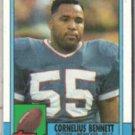 CORNELIUS BENNETT 1990 Topps #208.  BILLS