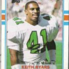 KEITH BYARS 1989 Topps #112.  EAGLES