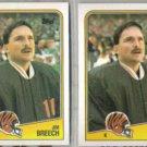 JIM BREECH (2) 1988 Topps #344.  BENGALS