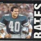 BILL BATES 1985 Topps #38.  COWBOYS