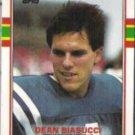 DEAN BIASUCCI 1989 Topps #212.  COLTS