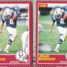 DEAN BIASUCCI (2) 1989 Score #185.  COLTS