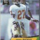 TERRELL BUCKLEY 1992 Fleer Ultra Draft Pick #420.  PACKERS